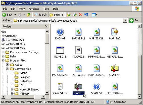 Quick Fix - Repair Inaccessible Outlook PST Corruption Issues