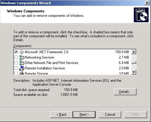 net framework v2.0.5072