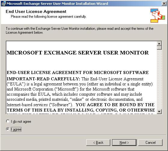 Using The Microsoft Exchange Server User Monitor ExMon