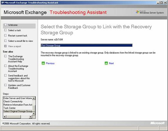MCTLABS How To's Exchange 2007 Recovery Storage Groups