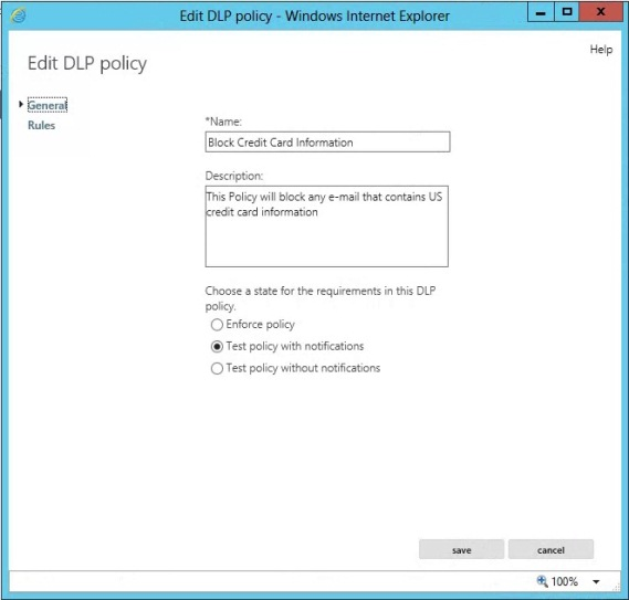 exchange server 2013 data loss prevention windows it pro