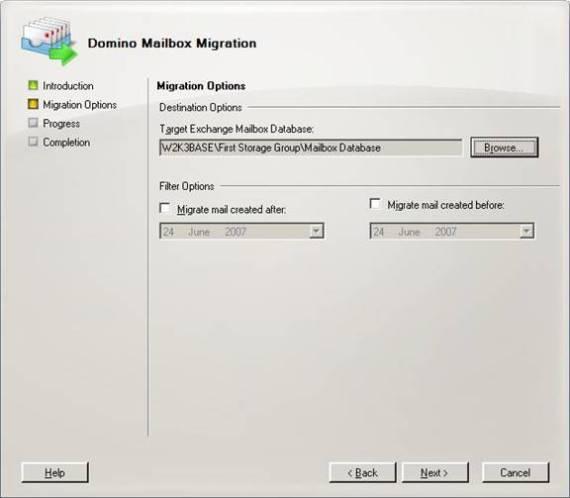 Msexchangeorg Articles Tutorials Exchange Server 2007 Migration Deployment Migrating Domino Part6