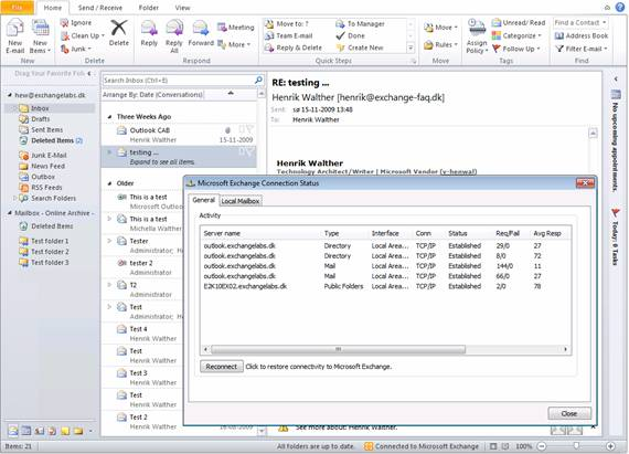 Uncovering the new RPC Client Access Service in Exchange 2010