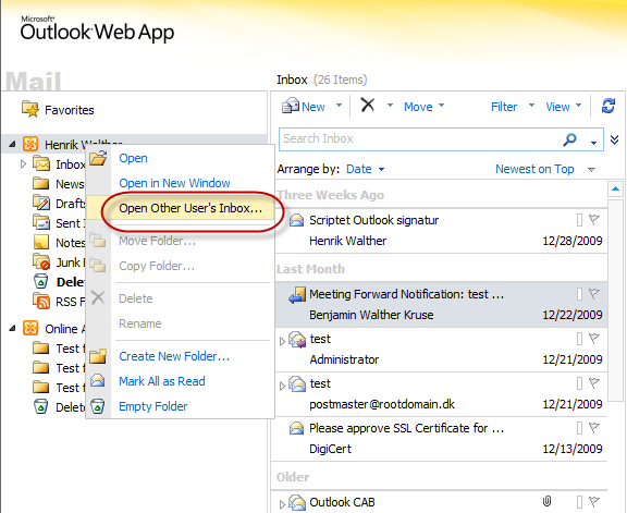 Outlook Web Access Open Pdf