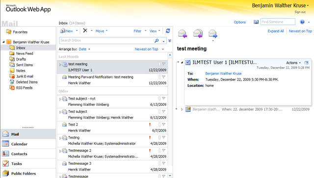 Opening Other Users Inboxes Mailboxes Using Owa 2010